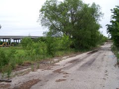 Haunted places in Texas - Haunted Screaming Bridge - what's left of it