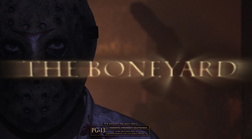 Boneyard movie trailer still - Texas Haunted Houses.