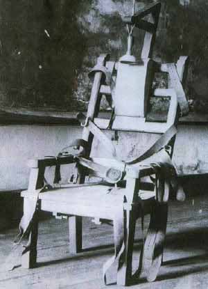 Death by Electrocution in Old Smokey - Hollywood Electric Chair Prop.