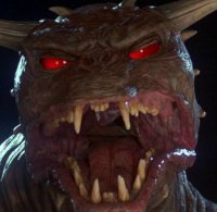 Zuul - Demonic beast from the Ghostbusters movie - Are you the keymanster