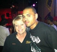 Donna Chris Brown at Boneyard Haunted House