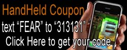 Haunted House Coupon Code sent directly to your handheld device